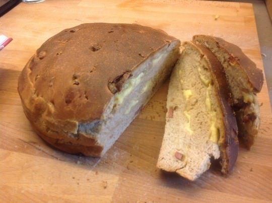 Pain de Savoie: Bacon Cheese Bread