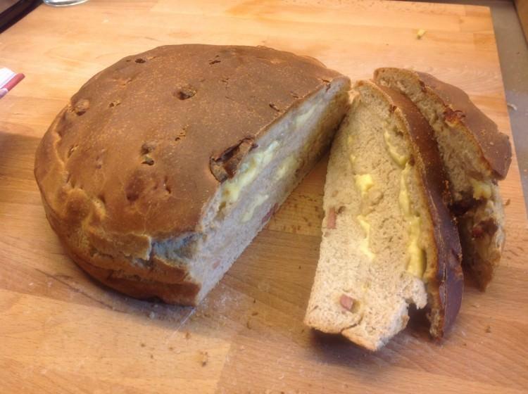 Pain de Savoie: Bacon Cheese Bread