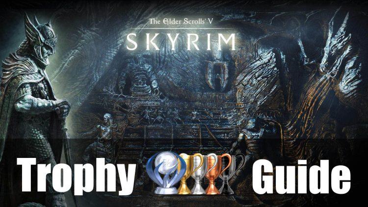 skyrim trophy guide roadmap fextralife rh fextralife com skyrim ps4 trophy guide Skyrim PS3 Cover