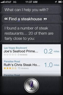 A look at humanity's greatest foe, Siri.