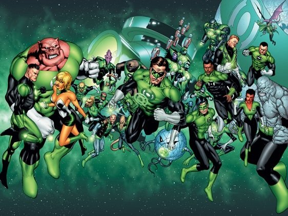 Green Lantern: A Geeky Love Letter