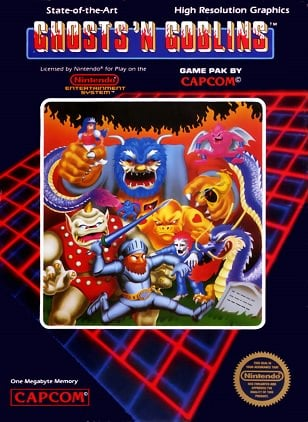 Retro Corner – Ghosts 'n Goblins (NES, Virtual Console, C64)