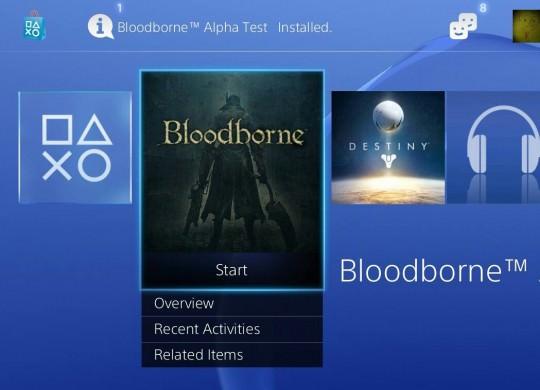 Bloodborne: Alpha