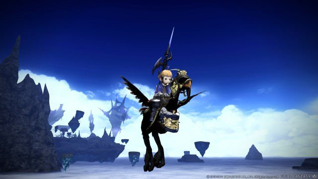 FF Heavensward flying chocobo