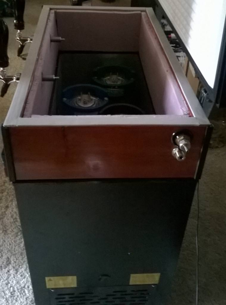 Installing Beer Taps Into A Chest Freezer Fextralife