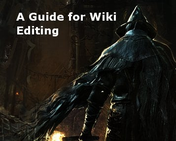 A Guide for Wiki Editing