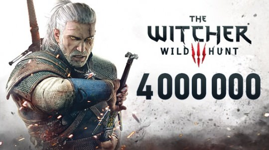 Witcher 3 sells 4 Million Copies in 2 weeks