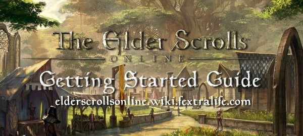 Getting Started Guide for Elder Scrolls Online on Consoles