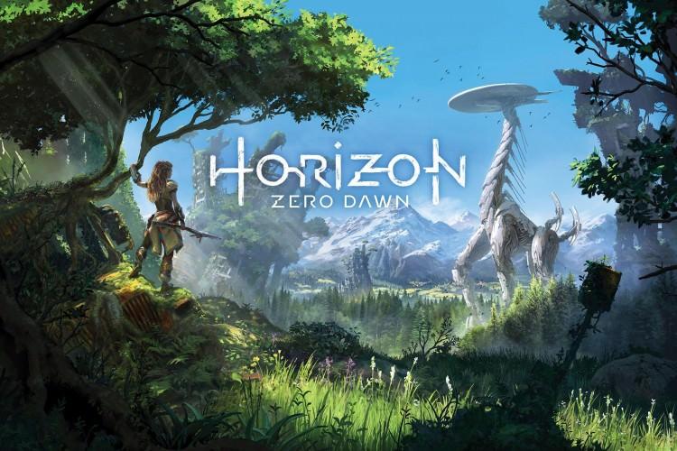 Horizon Zero Dawn The Frozen Wilds DLC Announced at Sony E3 2017