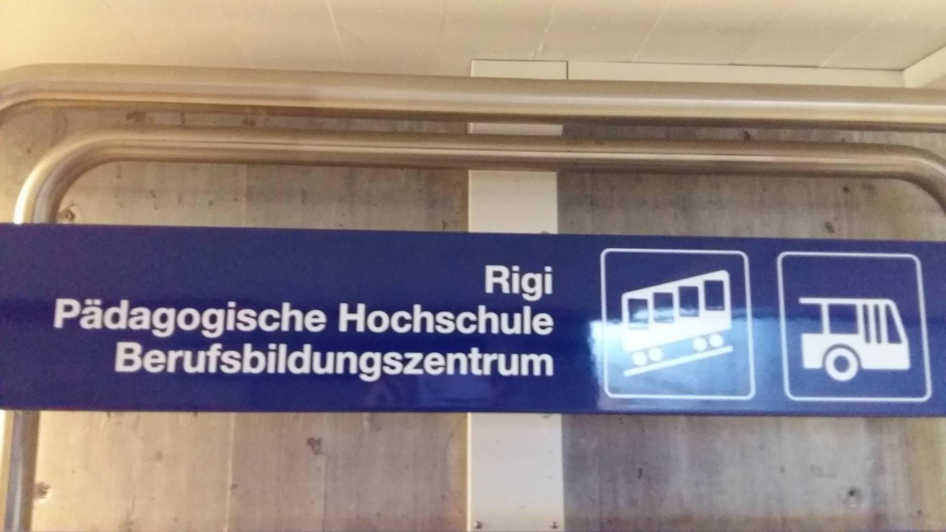 Rigi Sign