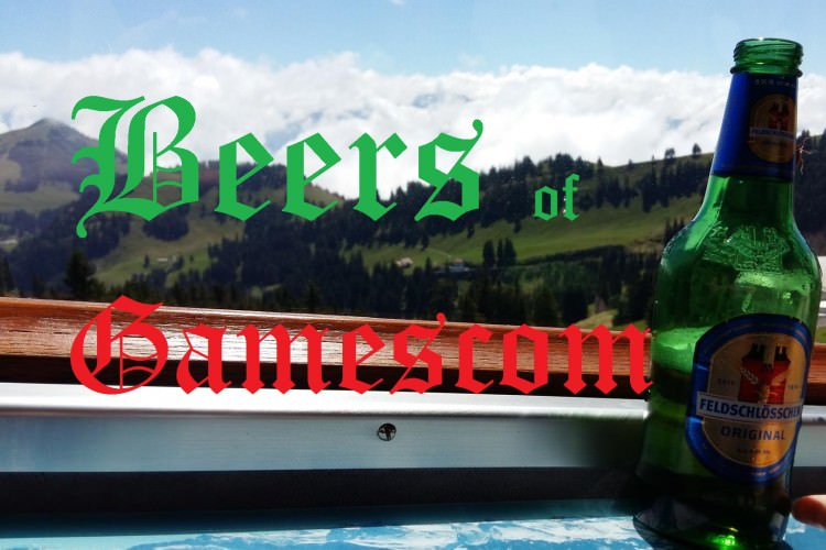 A beer-fueled Gamescom: in pictures!
