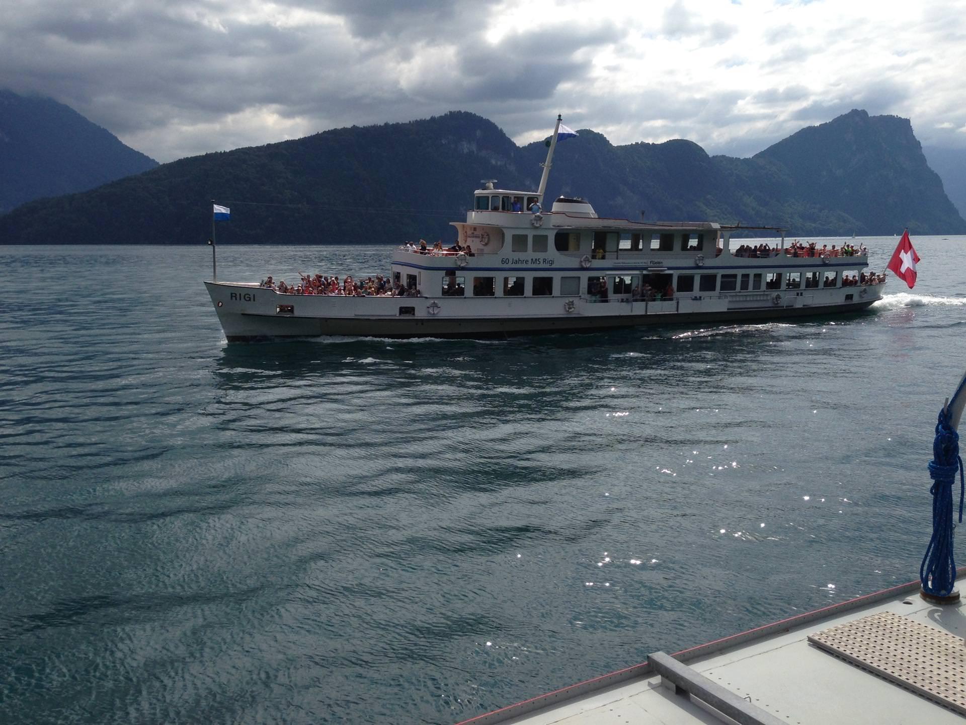boat trip-Switzerland