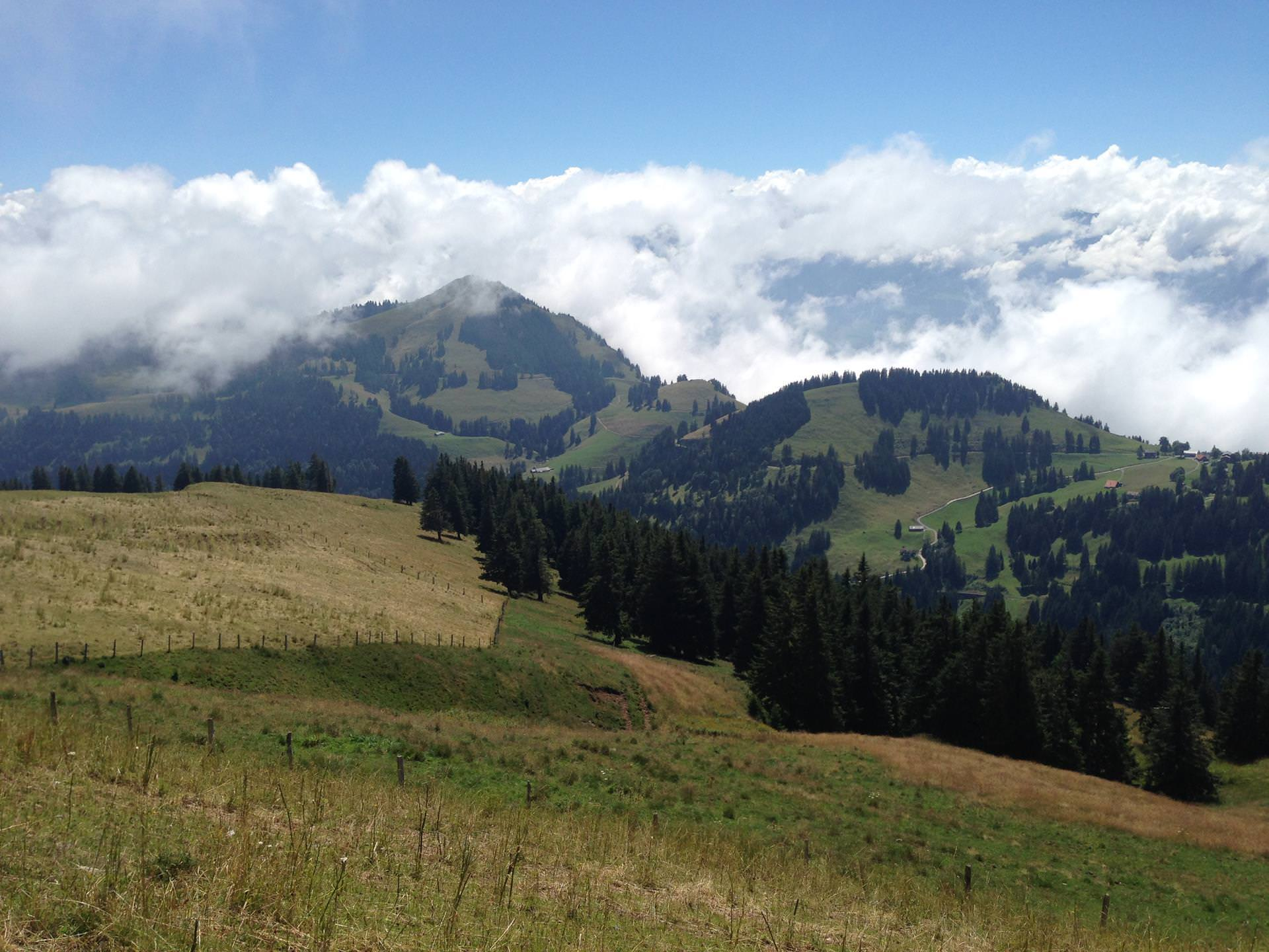 in the clouds-Switzerland