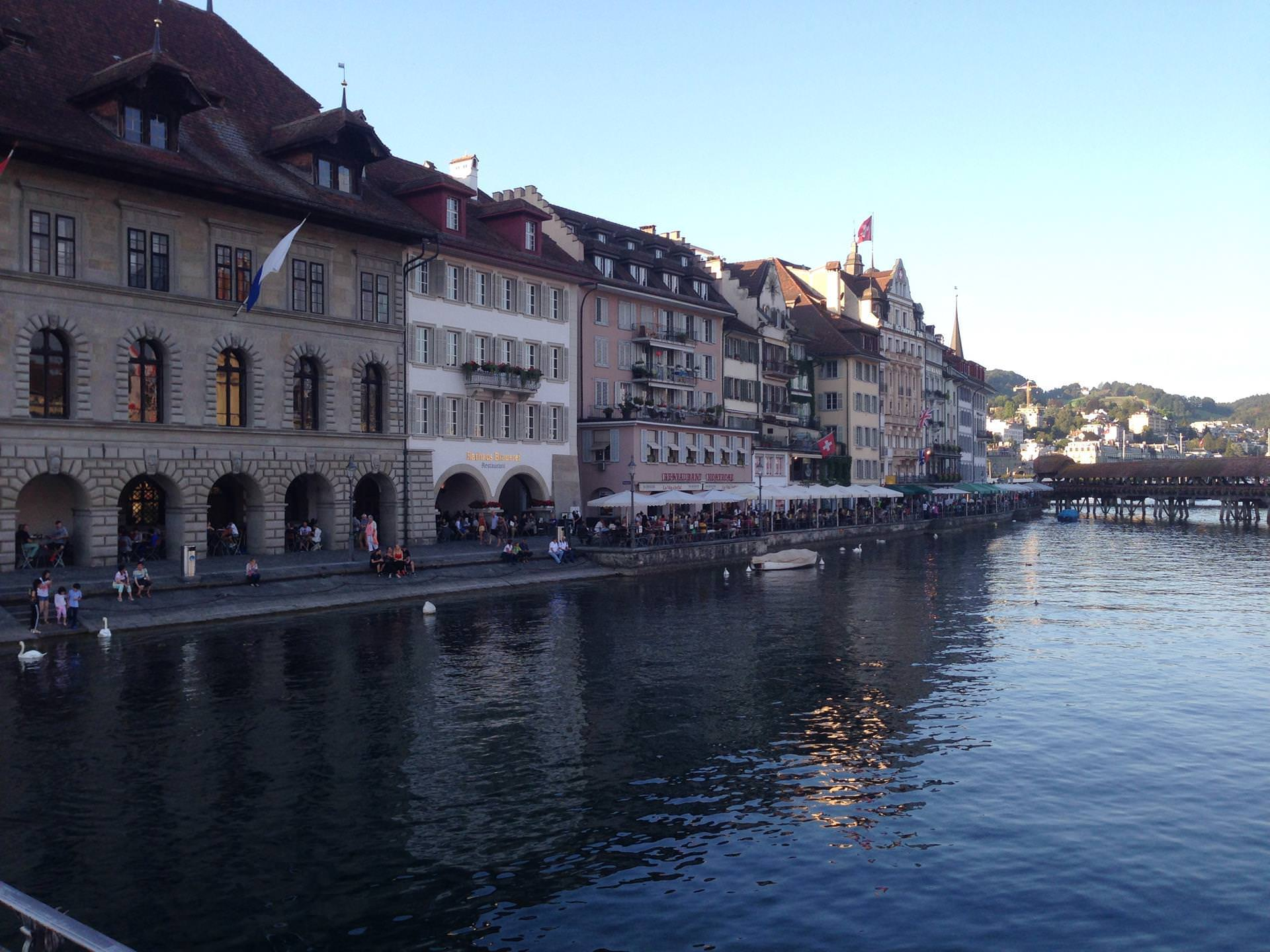 luzerne evening-Switzerland