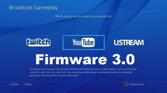 Playstation 4 Firmware 3.0 Coming Tomorrow!