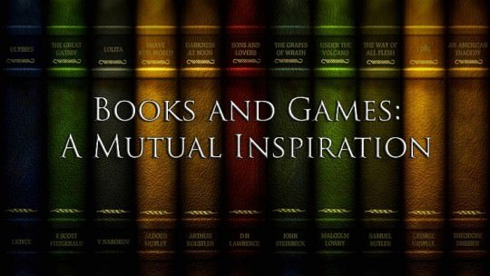 Books and Games: A Mutual Inspiration