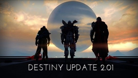 Destiny Update 2.01 Is Live