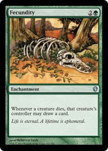 Fecundity Magic the Gathering