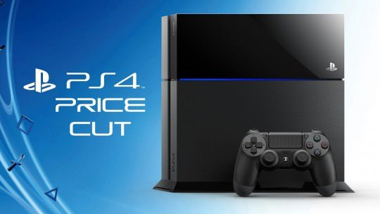 PS4 Gets a Price Cut October 9th
