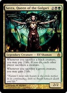Savra Magic the Gathering