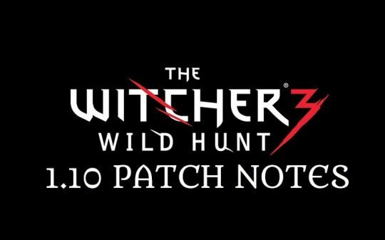 The Witcher 3 Patch 1.10 Detailed