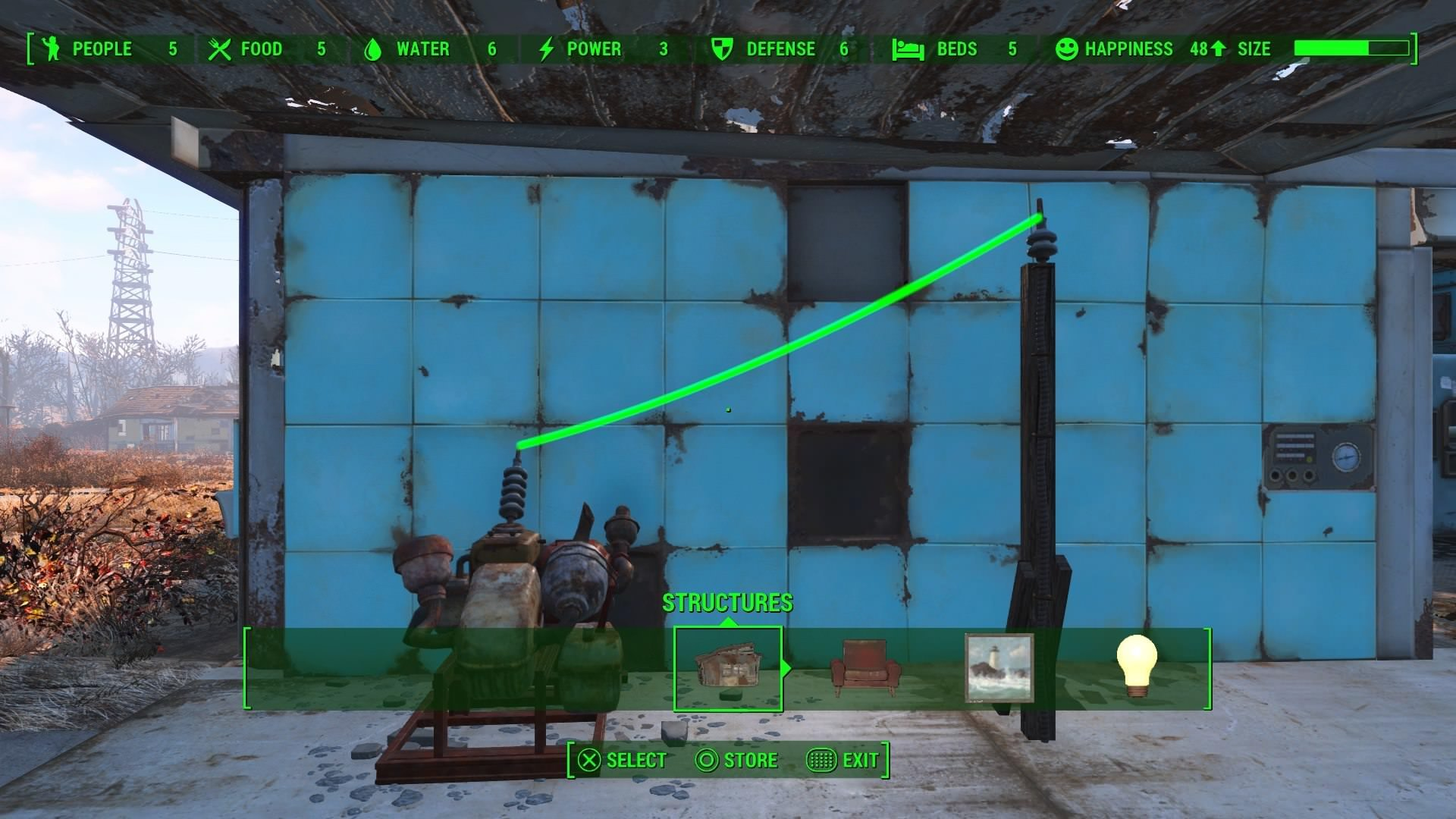 Fallout 4 Wall Light Not Working : A Beginner s Guide To Settlement Building in Fallout 4 Fextralife