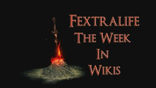 The Week In Wikis: Happy New Souls Game Year!