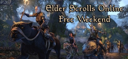 Elder Scrolls Online Free This Weekend for PC and Xbox One