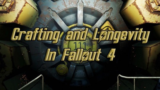 How Crafting In Fallout 4 Kept Me Going