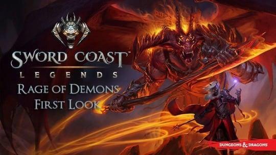 Sword Coast Legends Rage of Demons First Look