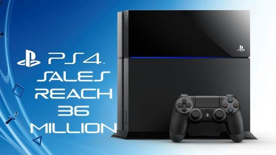 PS4 Sales Reach Nearly 36 Million