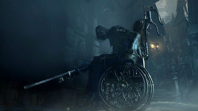 Wheelchair bloodborne