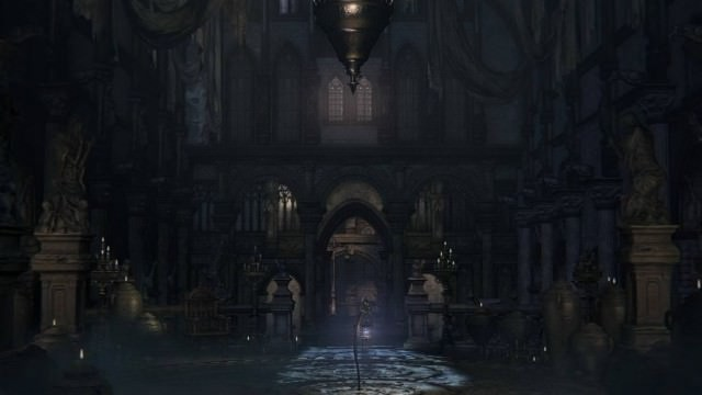 bloodborne cathedral