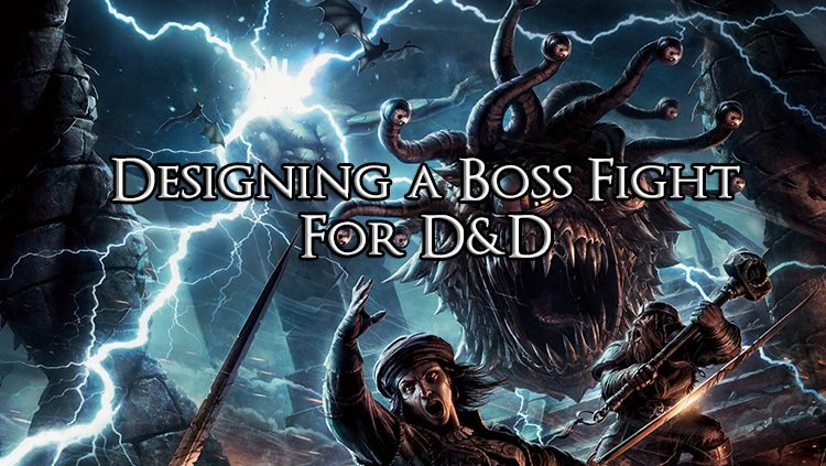 Designing a Boss Fight for D&D: Vampire Lord Abner