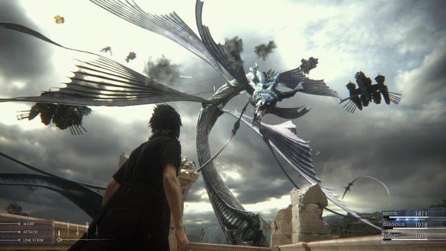 final fantasy xv combat 1