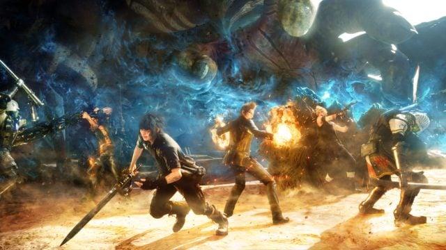 final fantasy xv combat