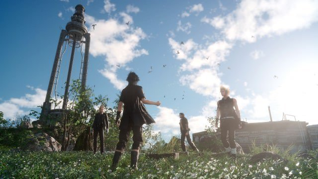 final fantasy xv outside