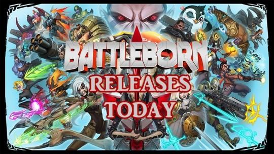 Battleborn Releases Today