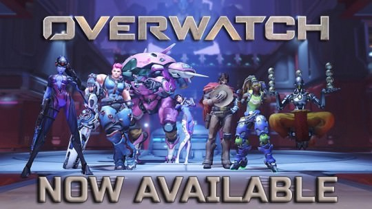 Overwatch Now Available