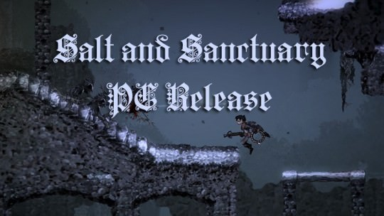 Salt and Sanctuary Released on PC