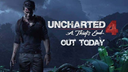 Uncharted 4 Out Today On PS4