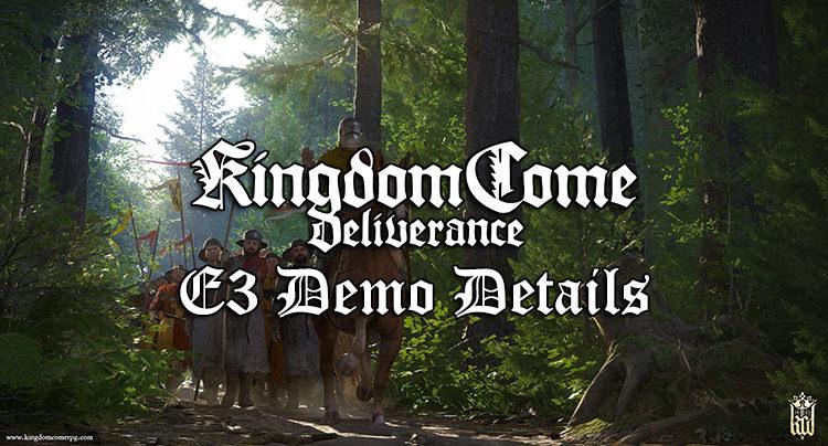 An Evening With Warhorse: Kingdom Come Deliverance Demo E3 2016