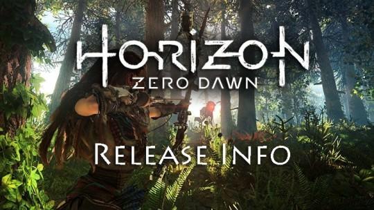 Horizon Zero Dawn Release Date, Collector's Edition Announced