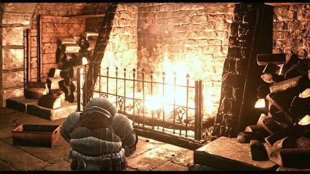 Siegward at fire