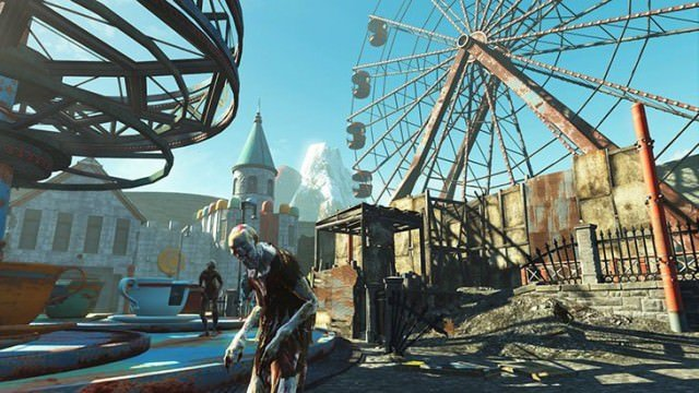 Nuka World Ferris Wheel