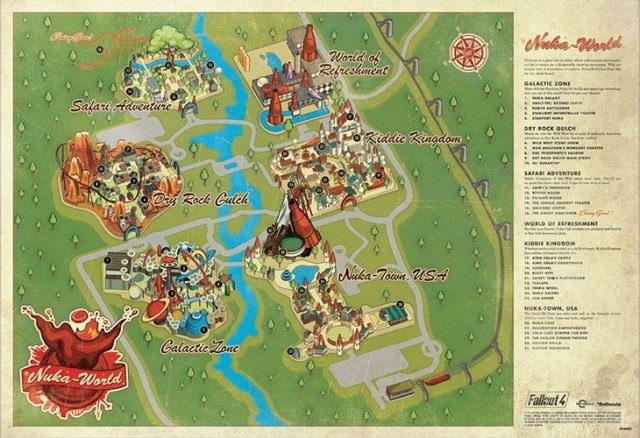 Nuka World Zones