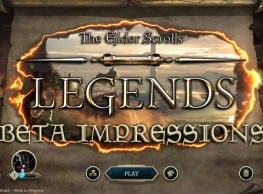 The Elder Scrolls Legends Beta Impressions: Cards, Mechanics, Game Modes & More