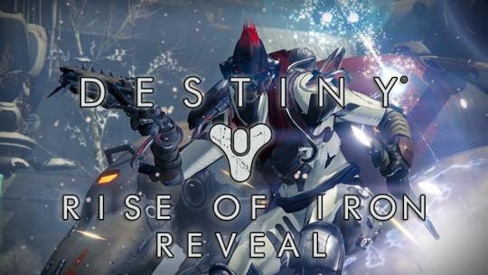 Destiny: Rise of Iron Revealed