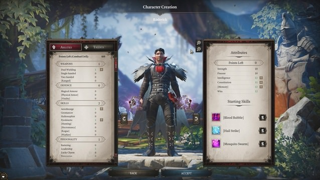 divinity character creation 2