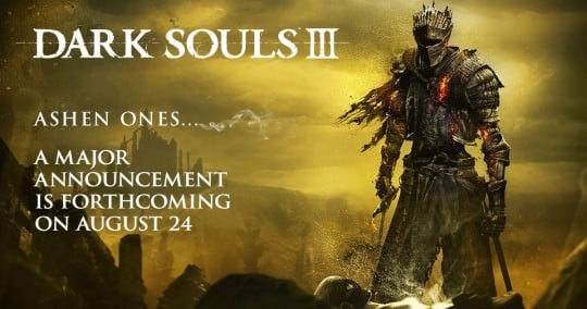 Dark Souls 3 announcement coming August 24th – DLC?